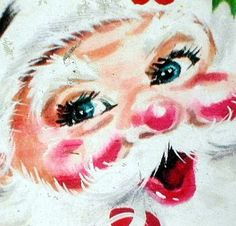 Santa, would love to find this fabric!