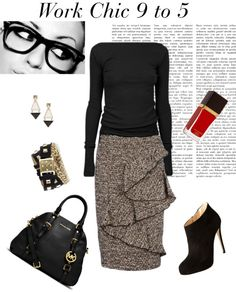 """Office outfit"" by melafashion on Polyvore"