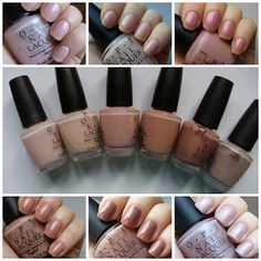 DAY LOVES COLOURS: OPI neutrals: neutrální laky OPI Privacy Please, OPI Makes Men Blush, OPI Hawaiian Orchid, OPI Dulce de Leche, OPI Barefoot in Barcelona, OPI You´re a Doll