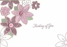 Bud Basics - Thinking of you by klotto - Cards and Paper Crafts at Splitcoaststampers