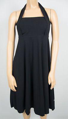 LULULEMON Black White Loop De Lulu Dress 10 M Reversible 4 Ways To Wear Vitasea