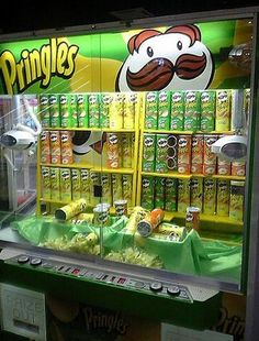 Pringles | Community Post: Bizarre Things You Can Buy From Vending Machines Around The Globe