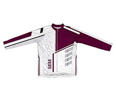 Qatar ScudoPro Long Sleeve Cycling Jersey for Women  Size L * Check this awesome product by going to the link at the image.Note:It is affiliate link to Amazon.