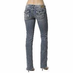 Silver Jeans Denim Womens Mckenzie Flap Medium Wash.