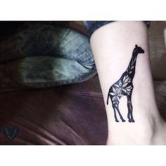 nice Top 100 giraffe tattoo - http://4develop.com.ua/top-100-giraffe-tattoo/ Check more at http://4develop.com.ua/top-100-giraffe-tattoo/