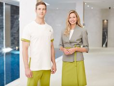 Looking for Spa Uniforms? Visit the Uniform Online Uniforms shop to find luxury, stylish and comfortable uniforms to work in. Spa Uniform, Hotel Uniform, Uniform Shop, Corporate Uniforms, Staff Uniforms, Work Uniforms, Spa Outfit, Senses Spa, Spa Reception