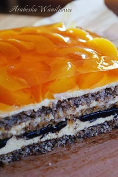 Arabeska : Kora orzechowa Orange Recipes, Carrot Cake, Butternut Squash, No Bake Cake, Carrots, Ale, Sweets, Baking, Ethnic Recipes