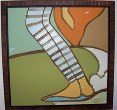 striped legs by Andy Davis