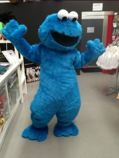 New Special Custom Made Sesame Street Blue Cookie Elmo Character Halloween Head Mascot Costumes Party School Suit Head Outfit from Shinrein,$60.84 | DHgate.com