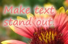 How to crate text effects using the older and the current versions - Version 14 - of Photoshop Elements.