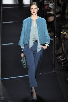 Diane von Furstenberg Fall 2011 Ready-to-Wear Fashion Show - Lindsay Lullman