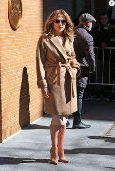Jennifer Lopez à New York le 2 mars 2016