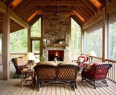 Screened in porches cottage-ideas