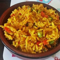 Nando's Inspired Syn Free Spicy Rice — Slimming World Survival Recipes Tips Syns Extra Easy Slimming World Survival, Slimming World Dinners, Slimming World Recipes Syn Free, Slimming Eats, Slimming World Lunch Ideas, Vegan Slimming World, Slimming Word, Slimming World Chicken Recipes, Spicy Rice Recipe