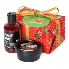 Rosy Christmas Gift: We wish you a rosy Christmas, complete with this gorgeous gift of luxurious treats for the shower!
