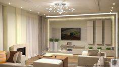 3D falpanel egyedi nappali szekrényekkel Bathroom Lighting, Living Room, Mirror, Furniture, Home Decor, Interior Design, Bathroom Light Fittings, Bathroom Vanity Lighting, Decoration Home