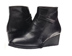 COCLICO OPAL BOOT 40 Black Leather $425 Wedge Ankle Booties 9.5 10 Anthro Shoes #Coclico #AnkleBoots #Any