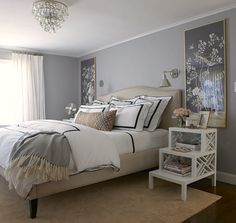 Guest Room Update Wishes. (elements of style) Couple Room, Guest Bedrooms, Guest Room, Bedroom Themes, Bedroom Decor, Bedroom Ceiling, Bedroom Inspo, Bedroom Ideas, Elements Of Style