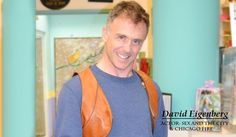 Chicago Fire and Sex in the City actor David Eigenberg with his Cognac Gun Holster!