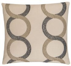 Clarke & Clarke Grove 50cm x 50cm Cushion - Charcoal X0559/01