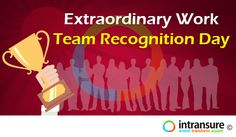 Extraordinary Work Team Recognition Day
