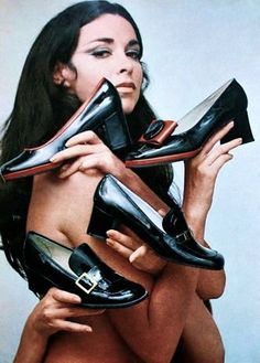 Magdorable!: BATA Shoes advertisement, ELLE (Germany) September 1969  gimme all your shoes...