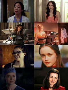 "study-like-elle-woods: "" Women that have inspired me the most (TV shows) // Christina Yang, Spencer Hastings, Hermione Granger, Elle Woods, Cosima, Rory Gilmore, Amelia Shepherd, Alicia Florrick """