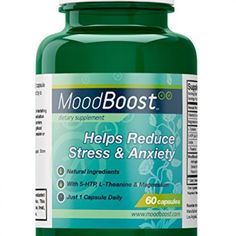 Mood Boost - Natural Supplement for Stress and Anxiety Relief - With Magnesium, Passion Flower, L-Tyrosine and L-Theanine - 60 Vegetarian Capsules Coping With Stress, Stress And Anxiety, How To Relieve Stress, Reduce Stress, Natural Supplements For Depression, L Tyrosine, 5 Htp, Magnesium Oil, Overcoming Depression