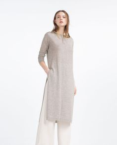 DRESS WITH LAYERED TOP-View All-DRESSES-WOMAN-SALE | ZARA United States