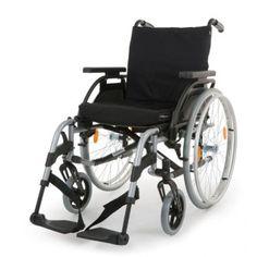 The Breezy Elegance Silver Wheelchair