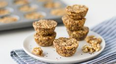 All the flavors of banana bread make these cereal and date snack bites a go-to snack!