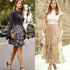 Duas inspirações românticas, criativas, para eventos diurnos, da Marina Ruy Barbosa.🌻🌼✨ #marinaruybarbosa #daily #creative #fashion #styles
