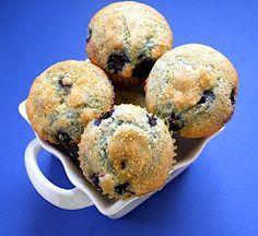 blueberry lemon cream cheese muffin