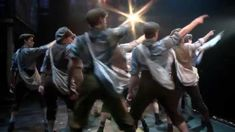 Sneak Peek of NEWSIES on Tour! <-- IT'S WITH THE NEW TOUR CAST. WITH JOEY AND MORGAN AND OH, MY GOODNESS I AM SO HAPPY RIGHT NOW. :3