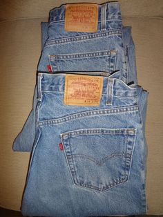 5049bee253 2 Pr Lot Mens Levis Relaxed Straight Leg Zipper Fly Denim Jeans Measures  34x31  fashion  clothing  shoes  accessories  mensclothing  jeans (ebay  link)