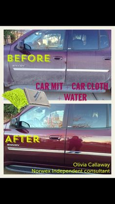 Norwex car cleaners!