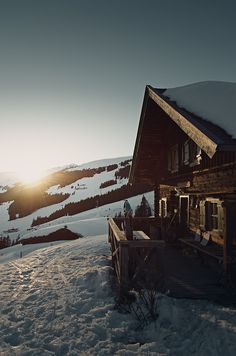 Skiing lodge