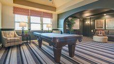 Billiard's room at Light Farms by Darling Homes. #Billiards #room