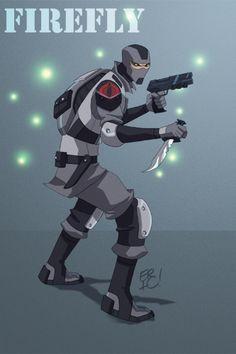 Firefly redesign - G.I. Joe - Eric Guzman