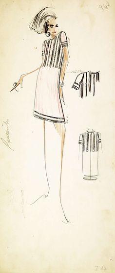 New fashion art illustration chanel karl lagerfeld ideas Illustration Mode, Fashion Illustration Sketches, Fashion Sketchbook, Fashion Sketches, Fashion Drawings, Fashion Quotes, Fashion Art, Trendy Fashion, Fashion Ideas