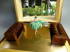 ★★★vintage Swiss Pre Reuge Dancing Ballerina Music Box ★★★ Watch The Video   eBay