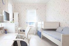 Dormitorio juvenil para dos. A continuación os ofrecemos una idea de decoración para decorar un dormitorio juvenil y luminoso para dos personas. #decoracion #dormitorio