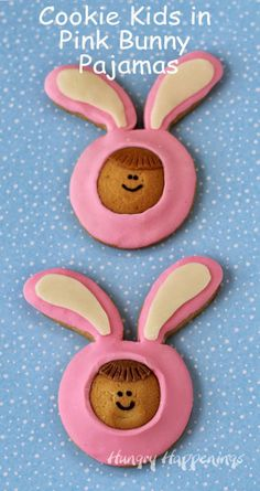 Hungry Happenings: Cookie Kids in Pink Bunny Pajamas