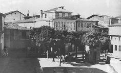 La actual Plaza de España en 1931 Multimedia, Plaza, Painting, Art, History, Antique Photos, Cities, Projects, Painting Art