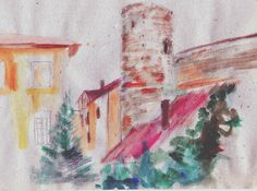 Toompea loss o fortezza piccola Painting, Art, Craft Art, Painting Art, Kunst, Paintings, Paint, Art Journaling, Drawings