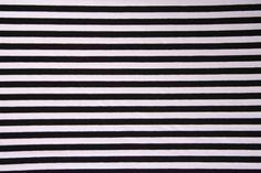 Jersey gestreift - Schwarz Weiß – Bild 2