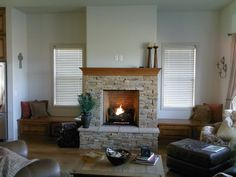 Fireplace Idea Gallery - Fireplace & Fireplace Mantel Photos / Pictures, Decorating, Design & Decor Ideas for Fireplaces - Regency Fireplace Products