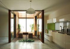 Internal courtyard - Hidden Annex - Edgley Design East London Architects - award winning RIBA Chartered architectural practice