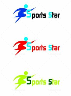 Sports Star logo - http://www.codegrape.com/item/sports-star-logo/5090