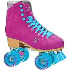Roller Derby Women's Candi Girl Carlin Quad Roller Skates, Pink
